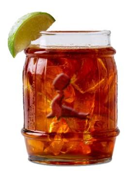 Bicchiere Botte Rum Gosling
