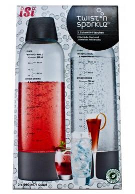 Kit 2 bottiglie per twist 39 n sparkle isi sifone cucina - Kit cucina molecolare ...