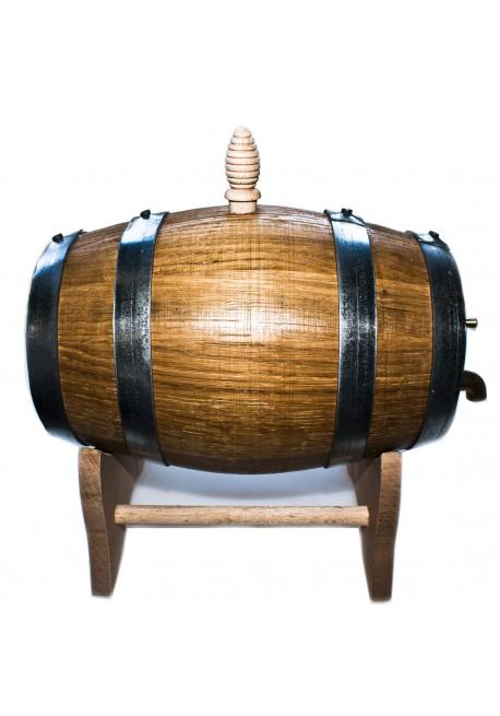 Botte in legno di castagno 2 lt attrezzature bar pro bar for Botte di legno arredamento