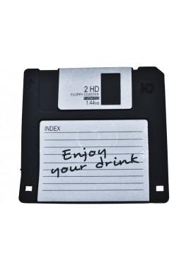 Sottobicchiere Floppy Disc