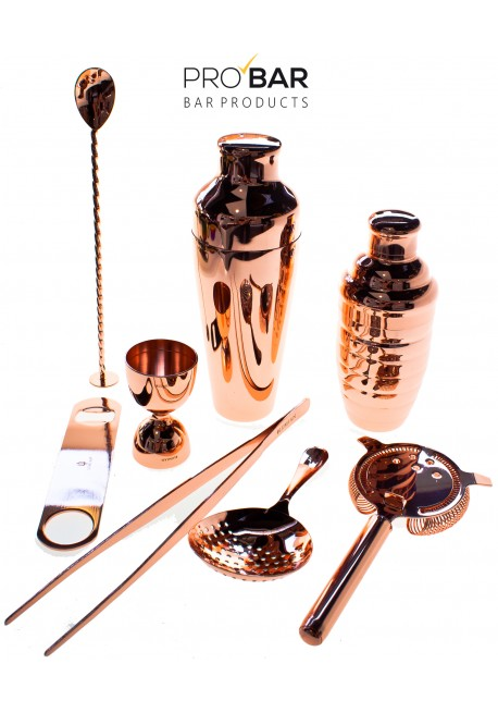 Lumian Copper Bartending Kit