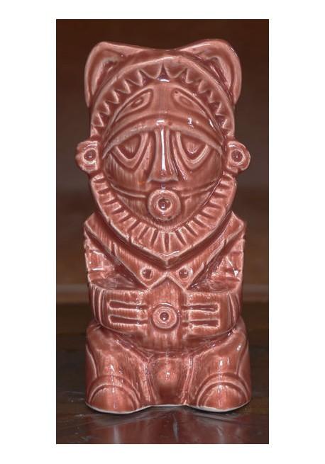 Papu Tiki Mug Terracotta
