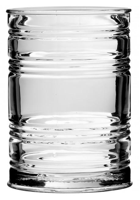 Bicchiere in Vetro Vintage Forma Barattolo