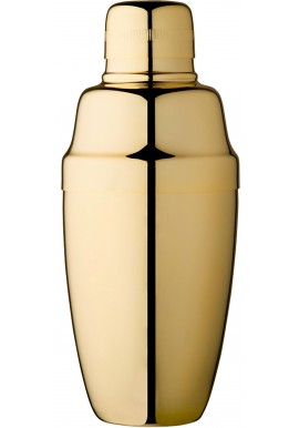 Cobbler Shaker Placcato Oro Vintage 16 oz - 50 cl