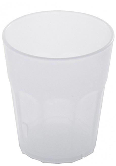 Bicchiere Rock Medium Polipropilene Bianco Latte - The Bars