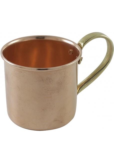 Cocktail Mug Vintage in Rame e manico in Ottone