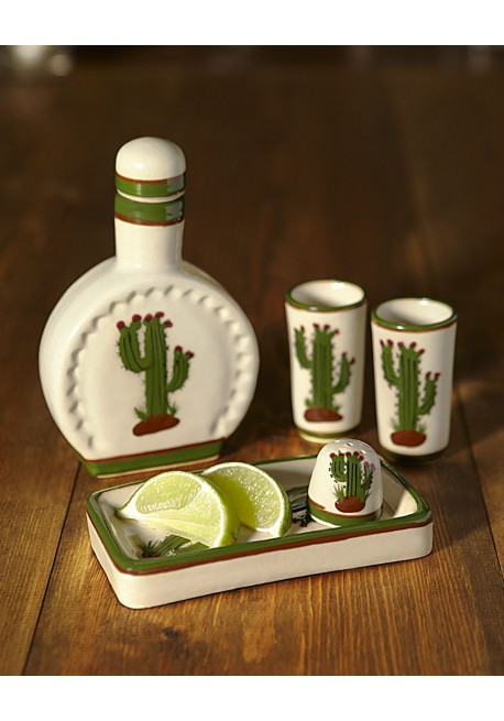 Cactus Tequila Set
