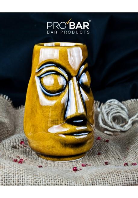 Moai Tiki Mug Marrone