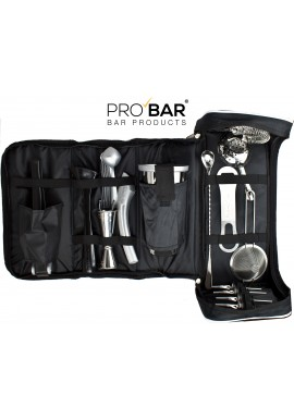 Borsa Barman in Eco Pelle con Kit Barman