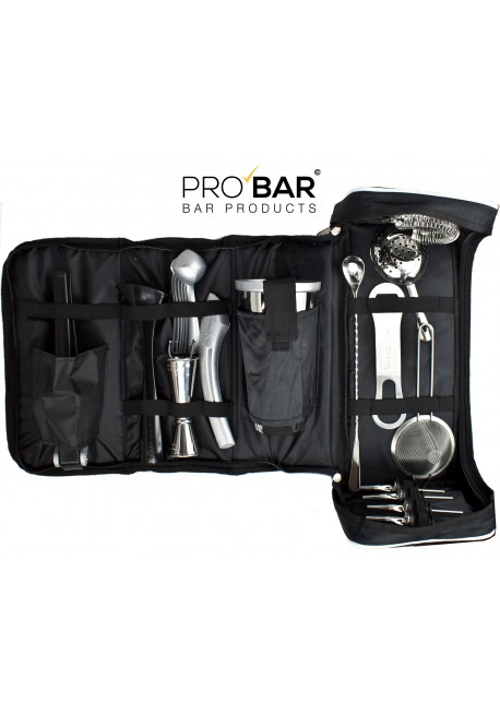 Borsa Barman in Pelle con Kit Barman