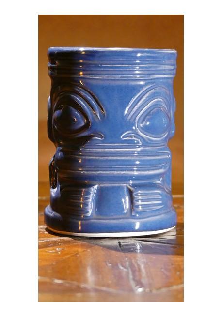 Bicchiere tiki mug marqui marq blu attrezzature bar for Arredamento tiki