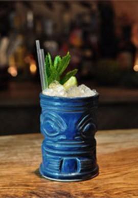 Bicchiere Tiki Mug Marqui Marq Blu