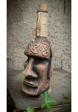 Bottiglia Moai Tiki