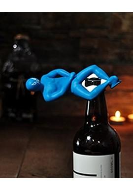 Luchador Bottle Opener Blu