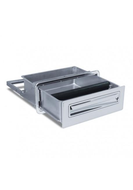Cassetto con Battifiltro acciaio inox