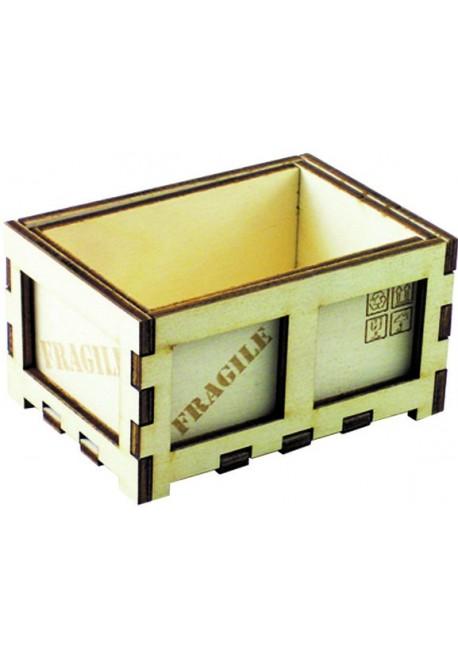 Porta Bustine Zucchero Vintage in Legno di Faggio