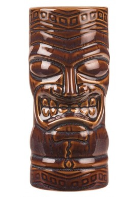 Tiki Totem Mask Brown