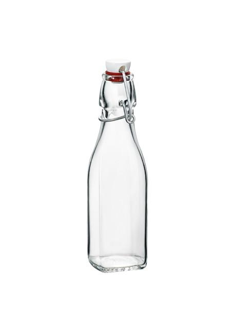 Bottiglietta home made 0,25 lt con tappo