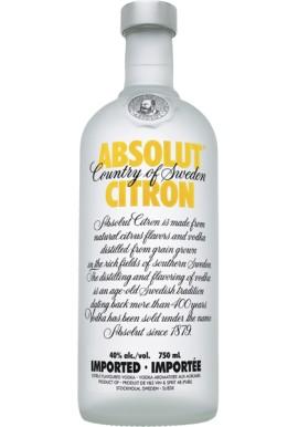 Absolut Citron Vodka 1 L