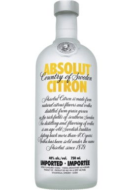 Absolut Citron Vodka 1 L