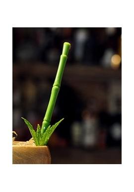 Bamboo Stirrer Tiki Mug